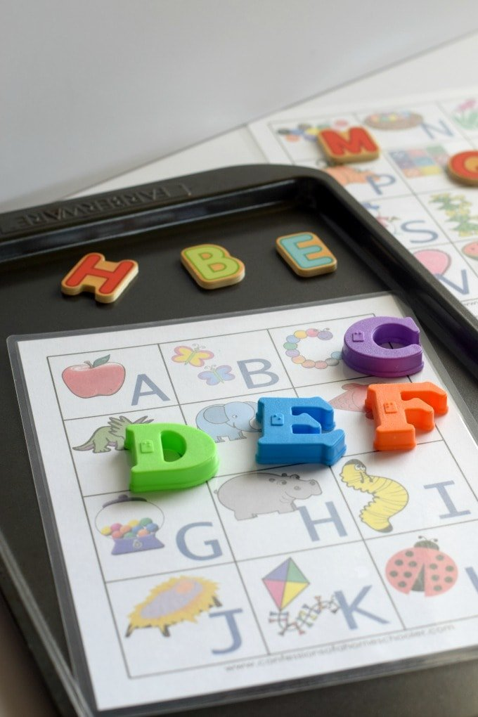 Three Year Old Homeschool Preschool: Alphabet A-Z Activities from Confessions of a Homeschooler (Letter a Week Alphabet Activities) by This Little Home of Mine