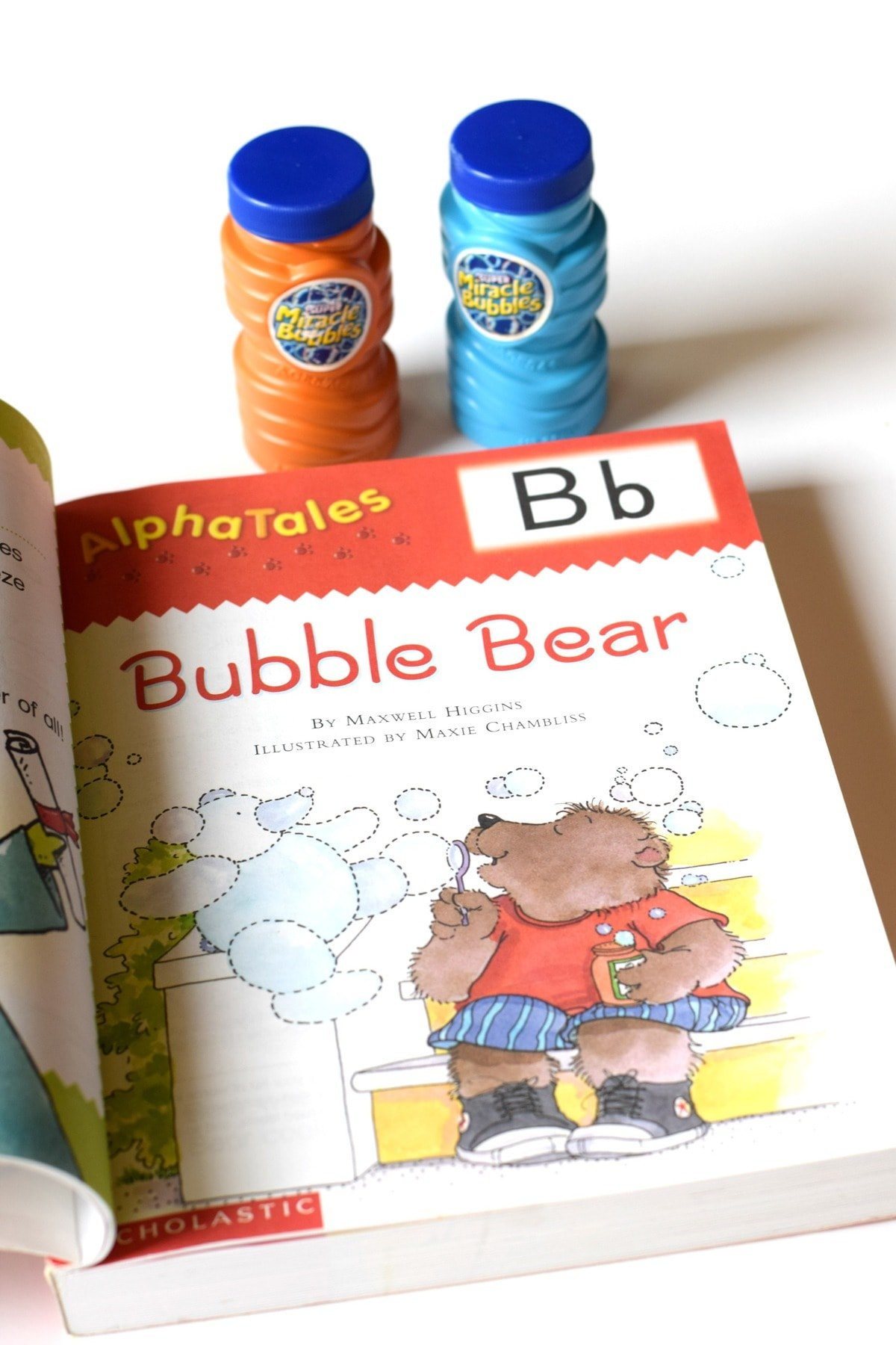 Three Year Old Homeschool Preschool: B is for Bubbles (Letter a Week Alphabet Activities) by This Little Home of Mine