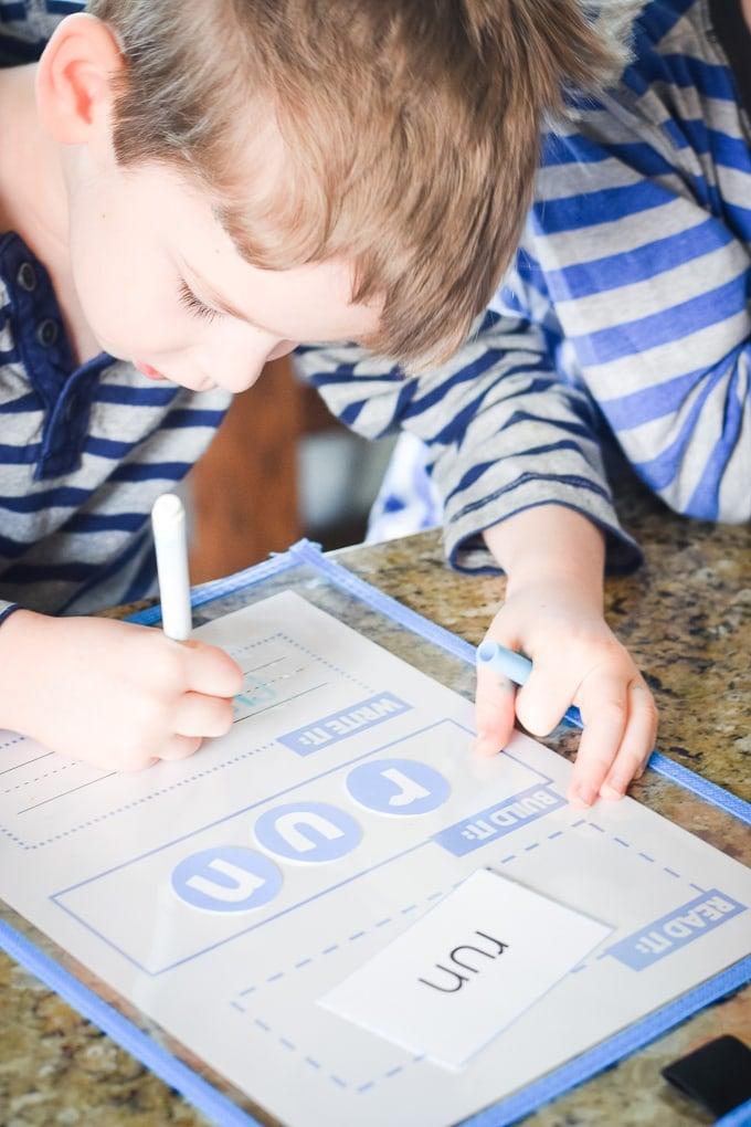 Four-Year Old Homeschool Preschool