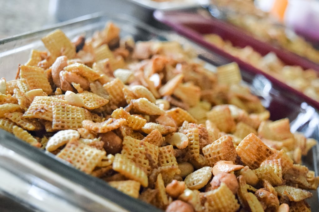 Holiday Chex Mix Recipe by This Little Home of Mine