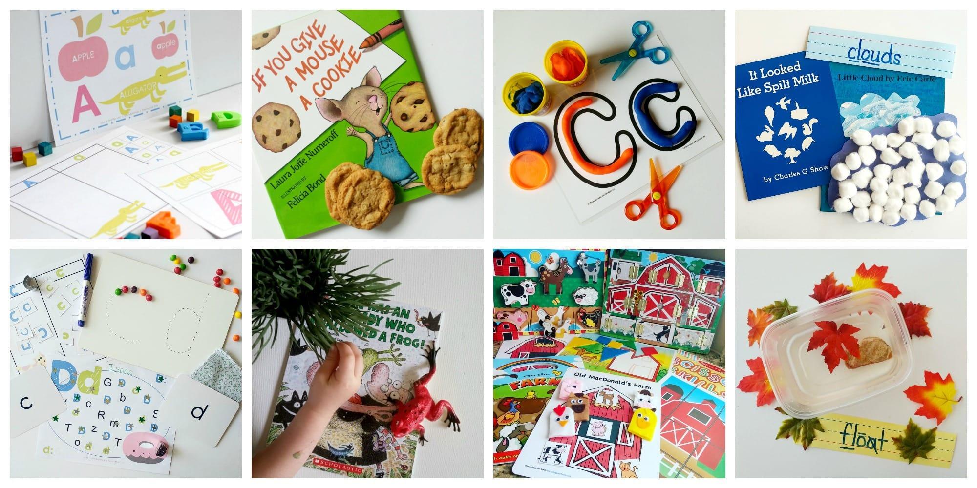 Two-Year Old Homeschool Preschool - Preschool at Home -