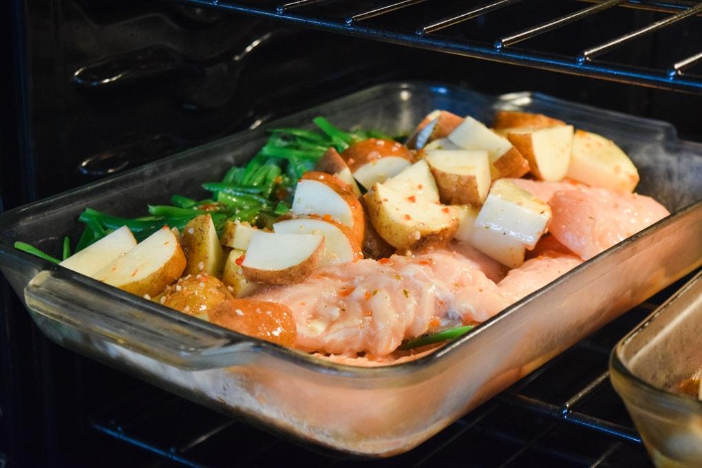 One Dish Chicken Bake Recipe