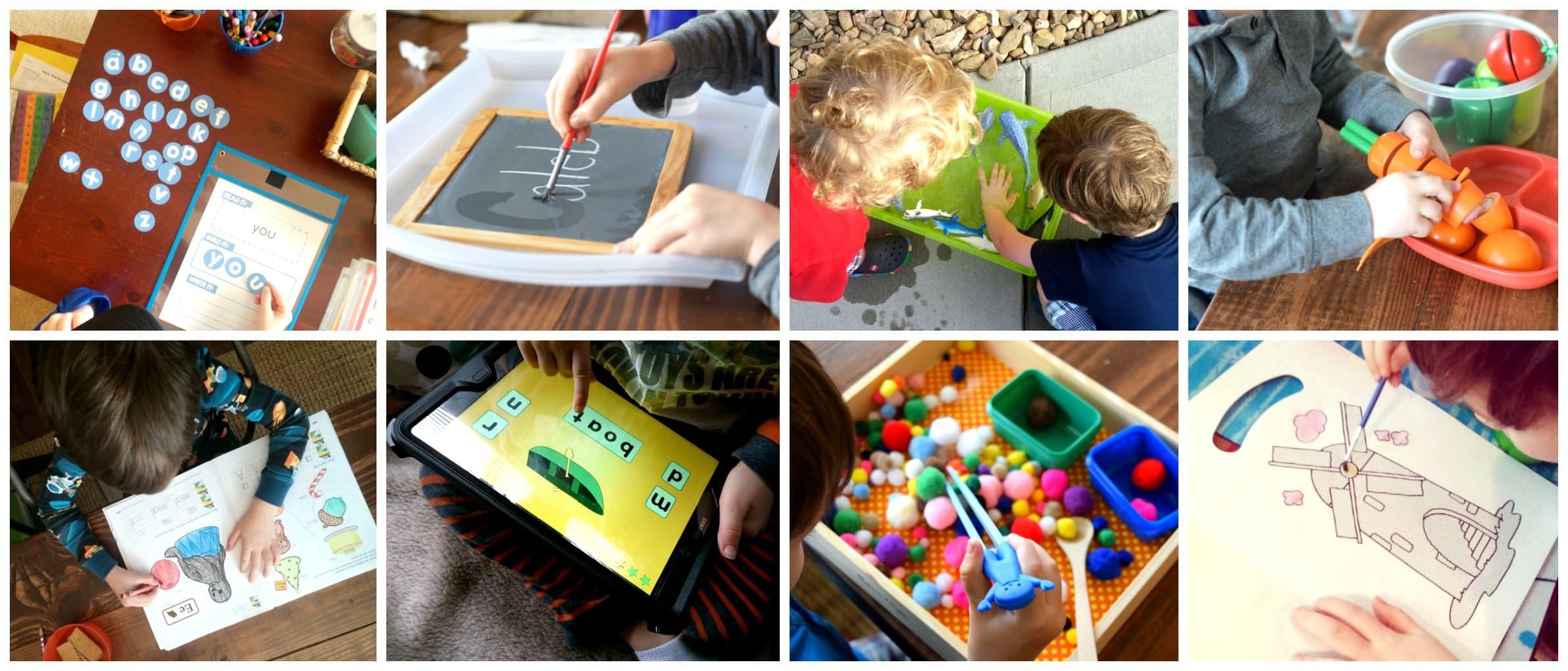 Four Year Old Homeschool Preschool