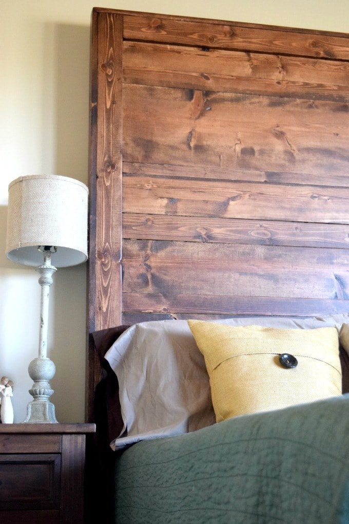 How to Create Your Own Rustic Headboard by This Little Home of Mine
