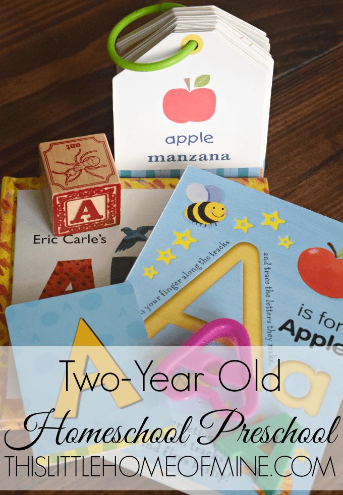 Two-Year Old Homeschool Preschool