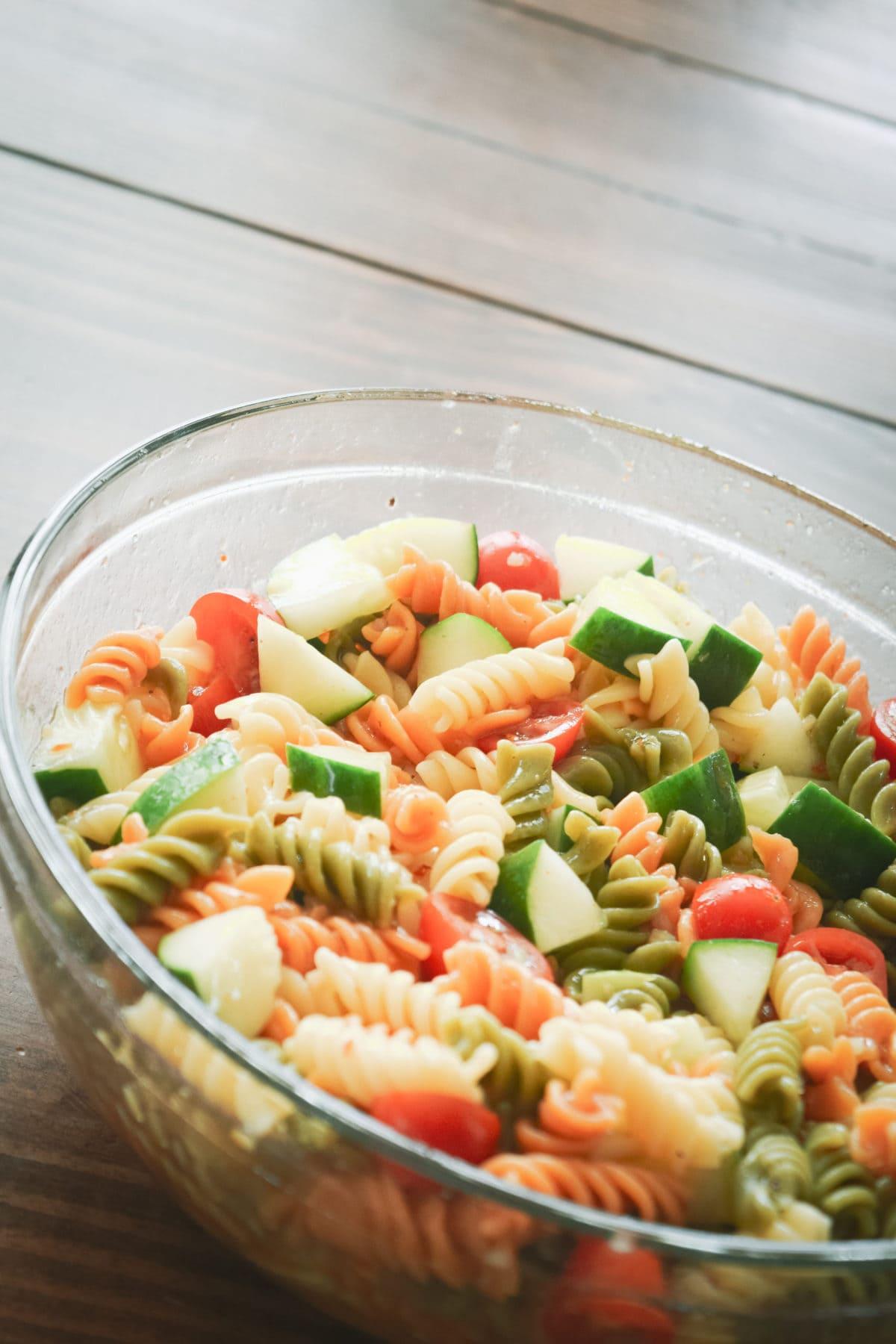 World's Easiest Pasta Salad