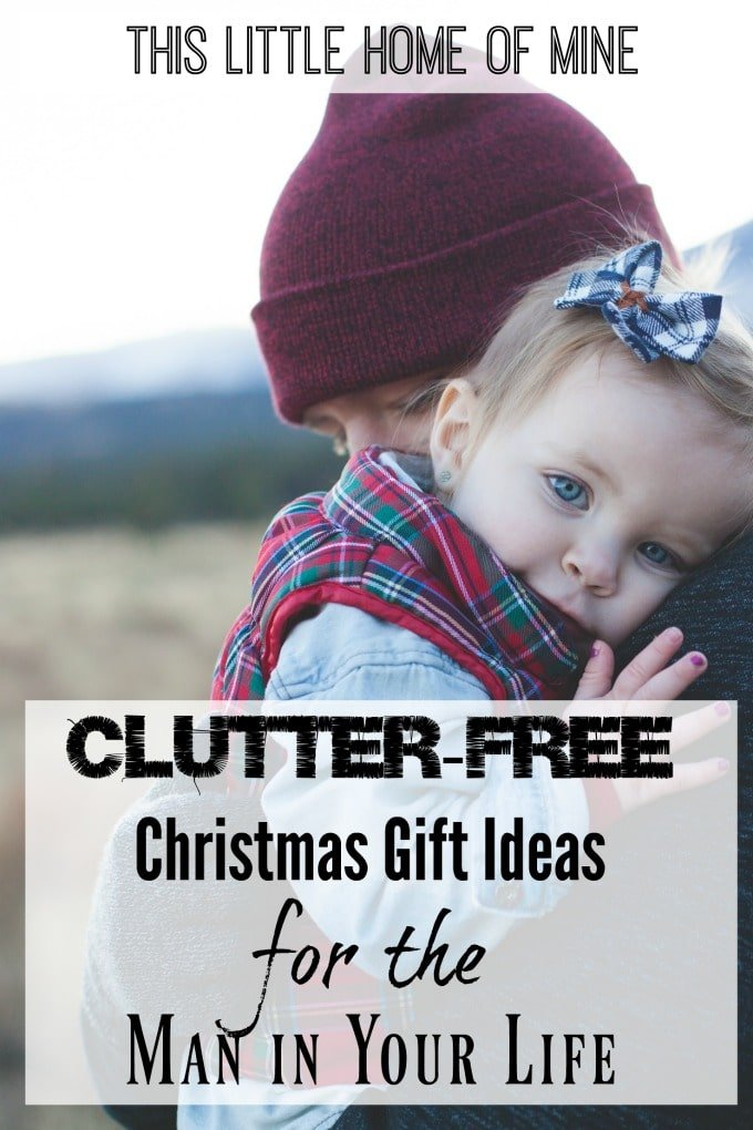 Clutter-Free Christmas Gift Ideas for Your Man