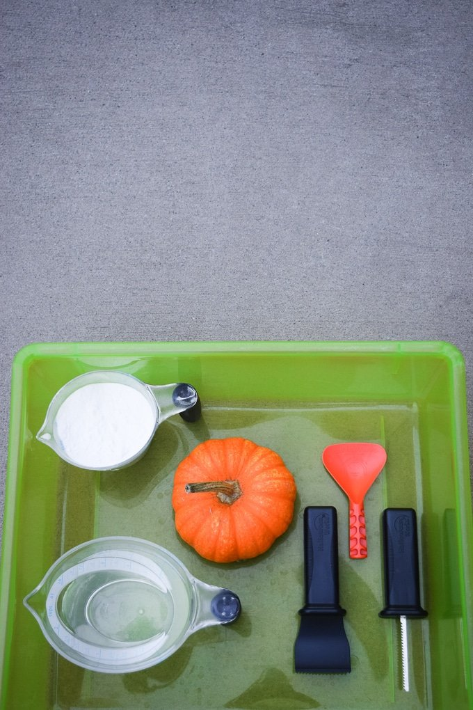 Erupting Pumpkin Science Experiment