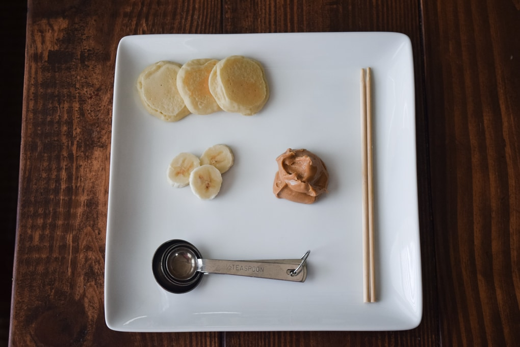 Peanut Butter Pancake Kabobs Recipe
