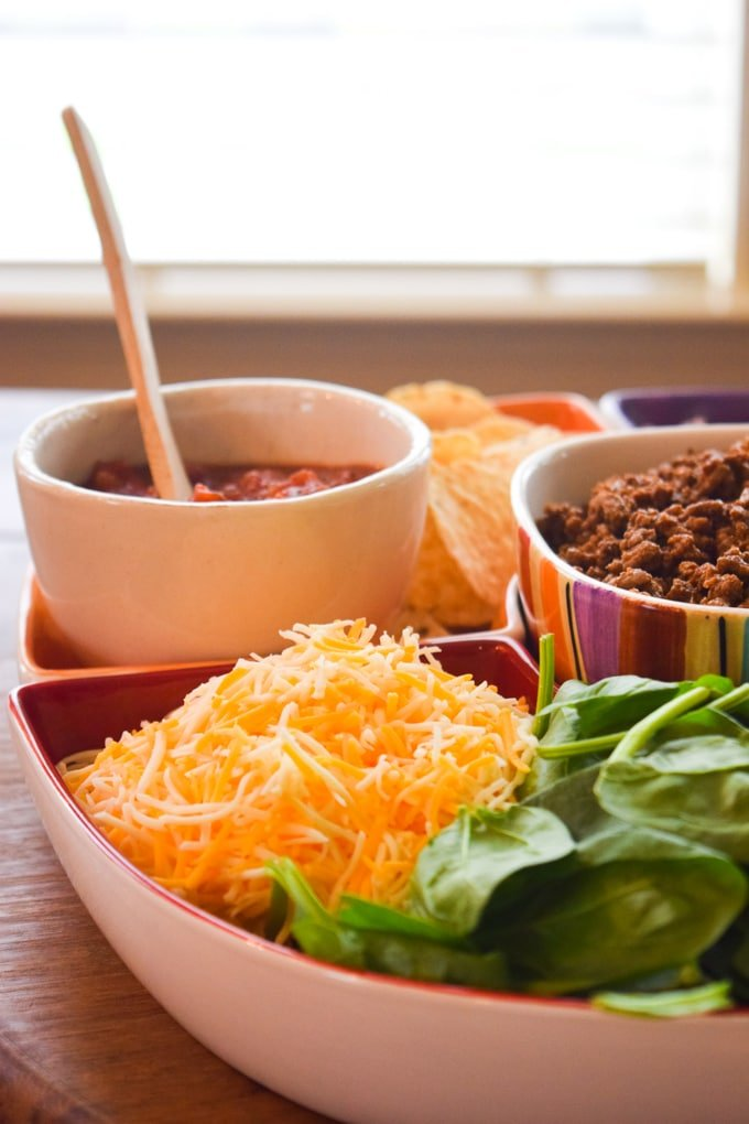Build-Your-Own Taco Party Bar