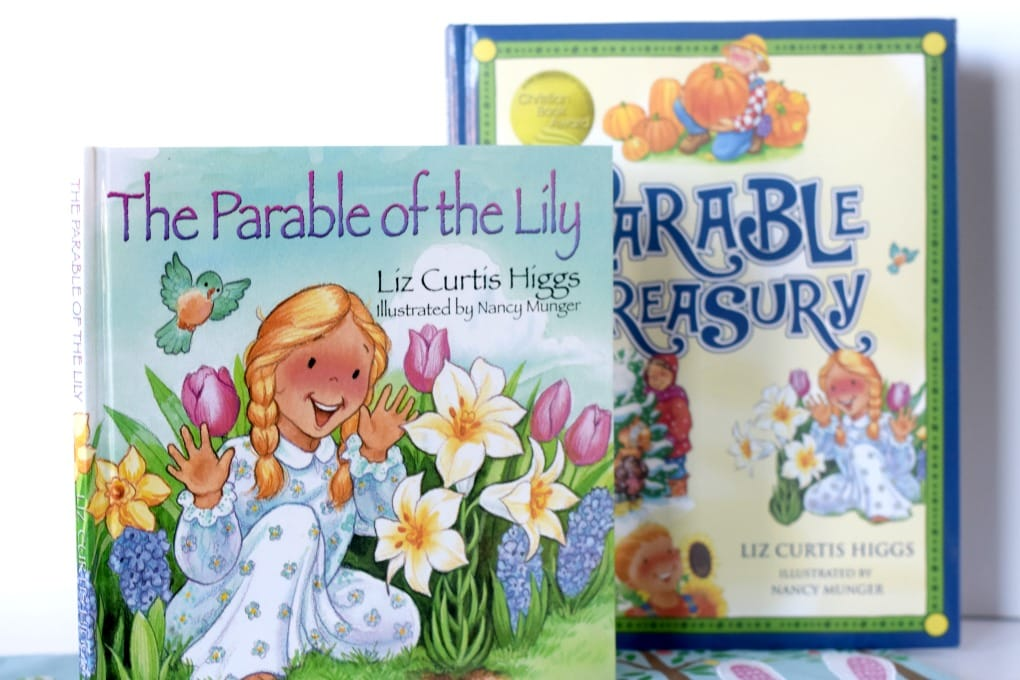 The Parable of the Lily - Featured on This Little Home of Mine