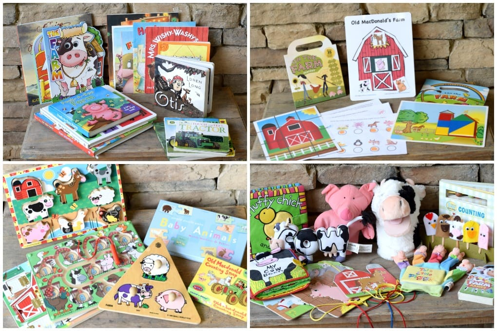 Farm Unit Books, Puzzles, and Activities by This Little Home of Mine