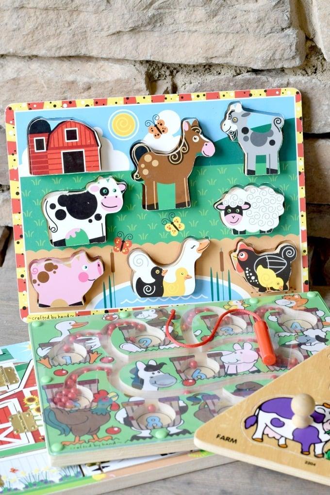 Pre-school Unit Prep List: Farm Unit Puzzles by This Little Home of Mine
