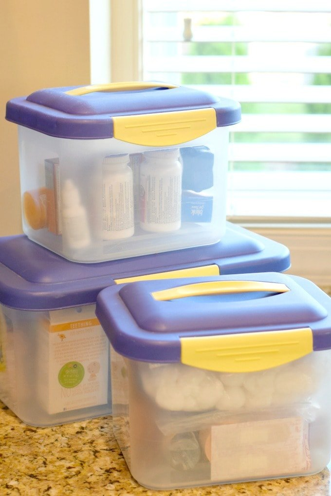 How to Organize and Safely Store Medicine by This Little Home of Mine