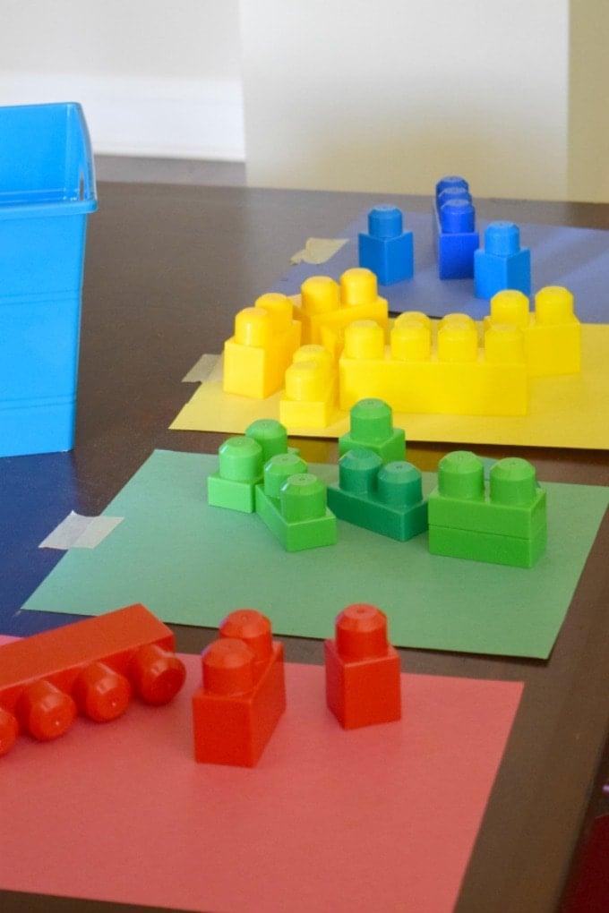 Lego Color Sort