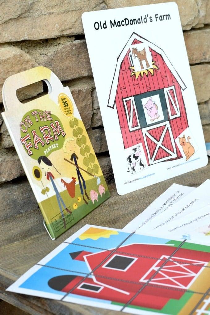 Pre-school Unit Prep List Farm Activities by This Little Home of Mine
