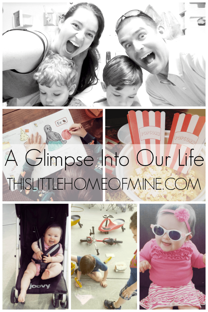 A Glimpse Into Our Life: May