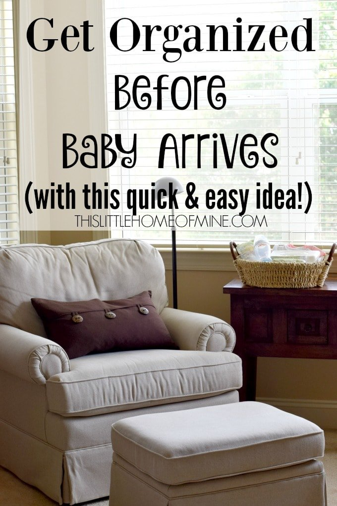 Newborn Baby Stations: Get Organized Before Baby Arrives
