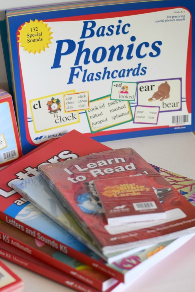 How We Use A Beka Phonics by This Little Home of Mine