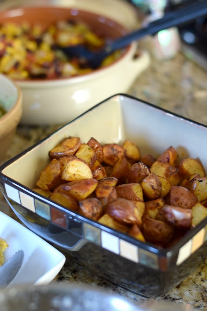 Potatoes in a Bag: Recipe for One Bag Potatoes by This Little Home of Mine