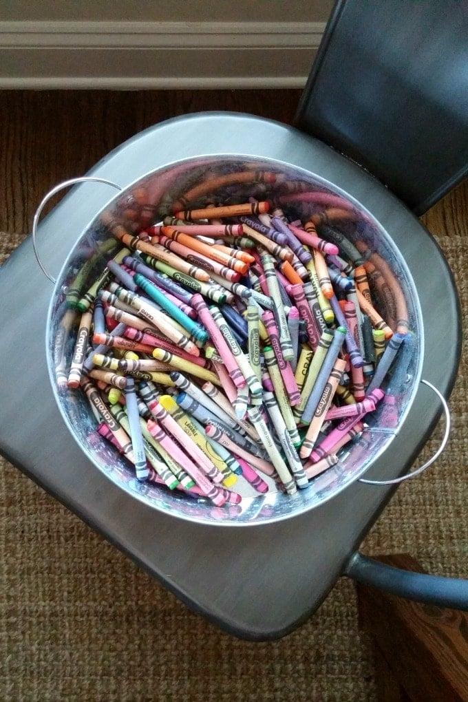 Crayon Storage Idea