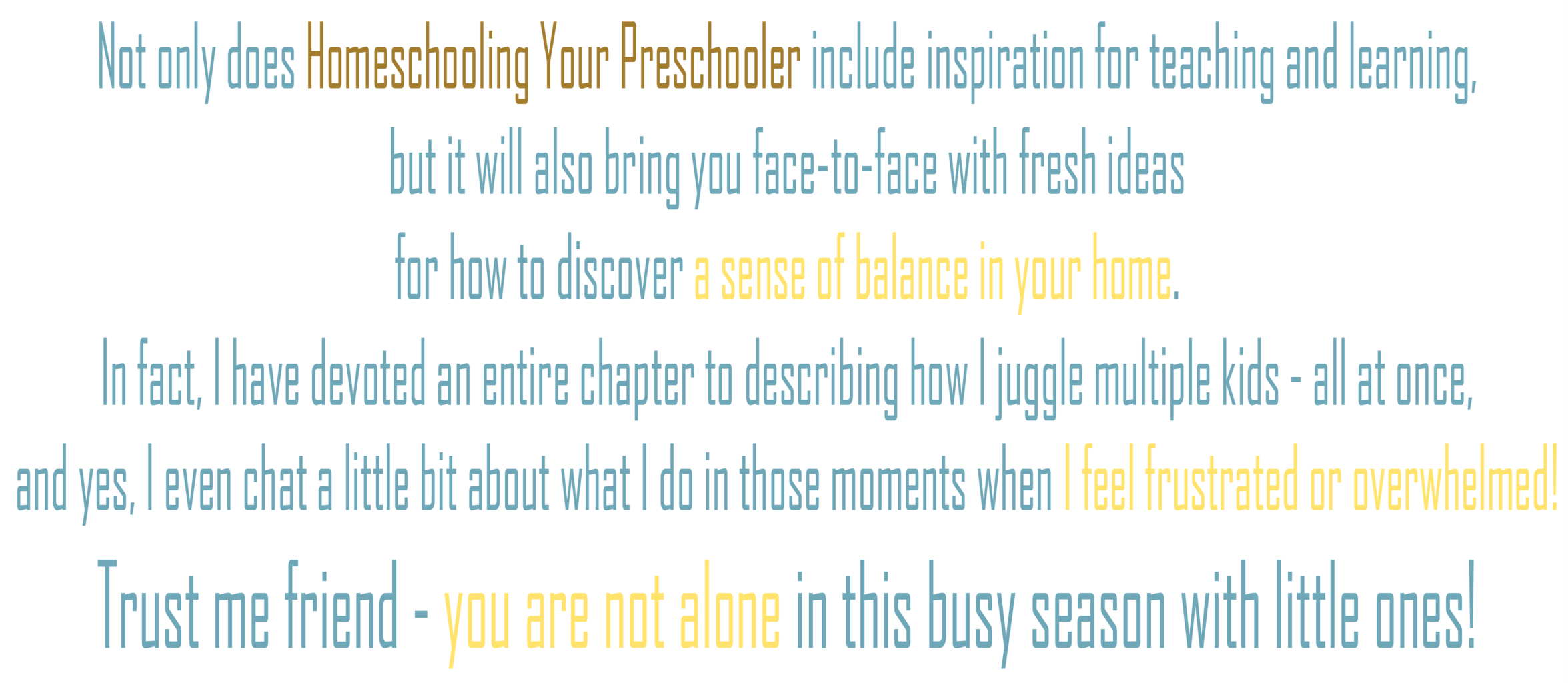 Homeschooling Your Preschooler - What Does My Purchase Include Banner