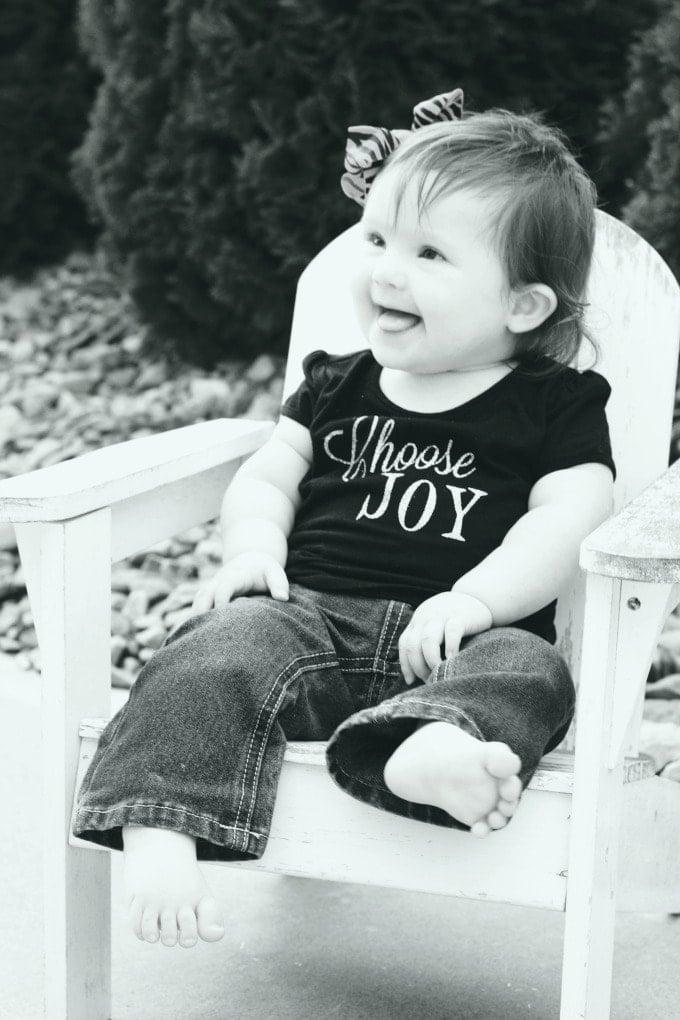 Down Syndrome: Year One – Choosing Joy