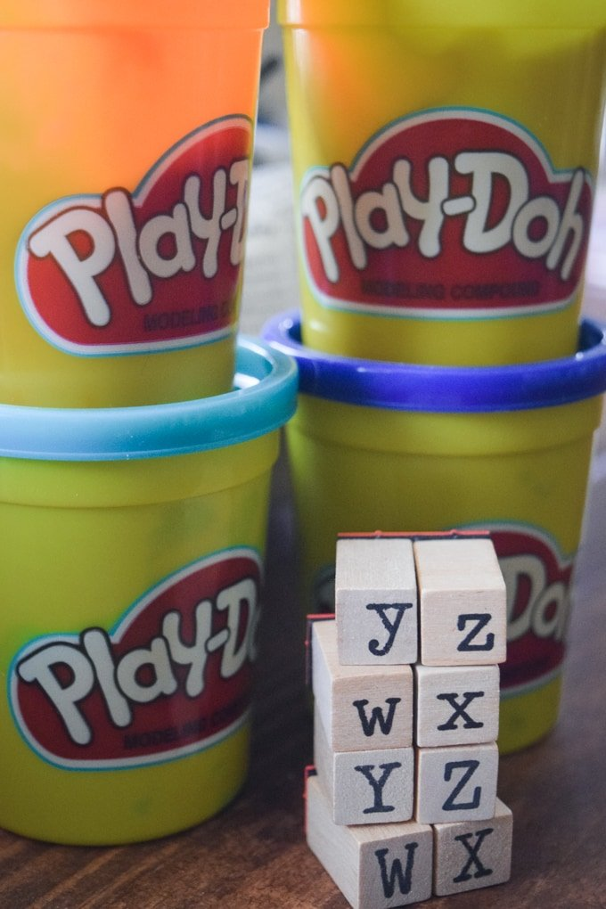 Word Stamping Activity: Sight Words, CVC Words, & More!