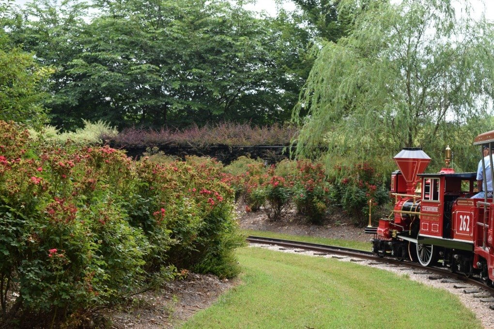 Village Park Rotary Express Train - Kannapolis North Carolina by This Little Home of Mine