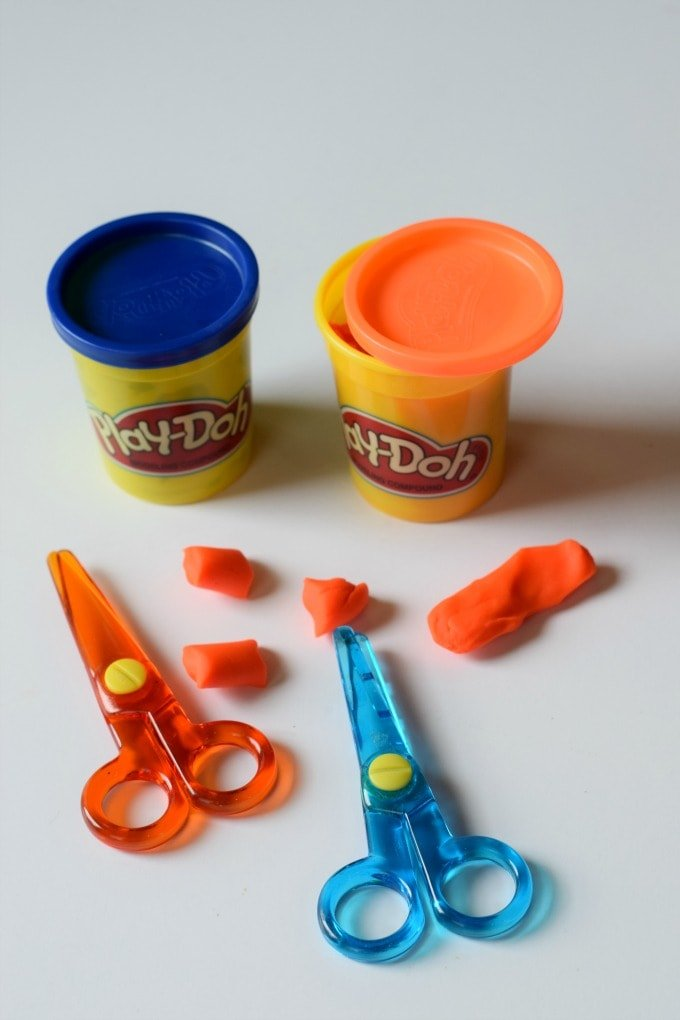 Fine Motor Activities: Playdoh by This Little Home of Mine