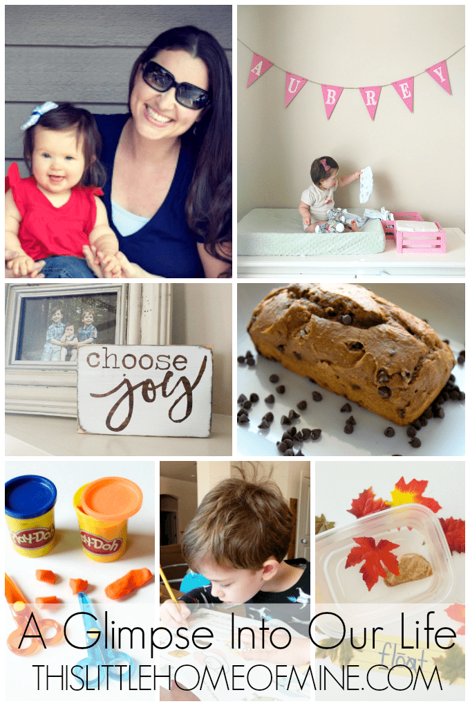 A Glimpse Into Our Life: September & October