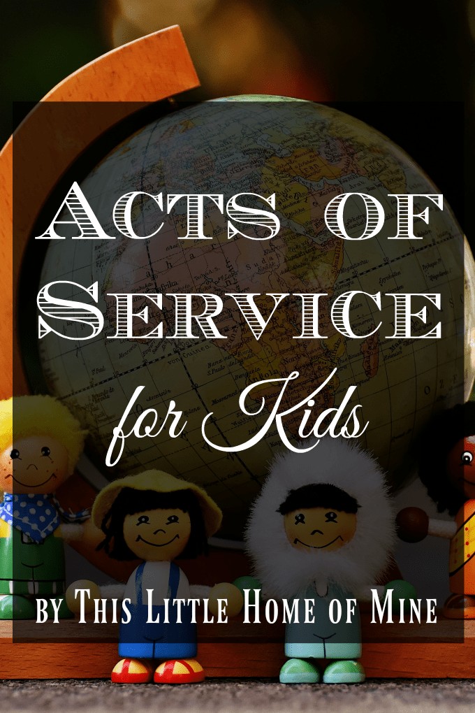 Acts of Service for Kids