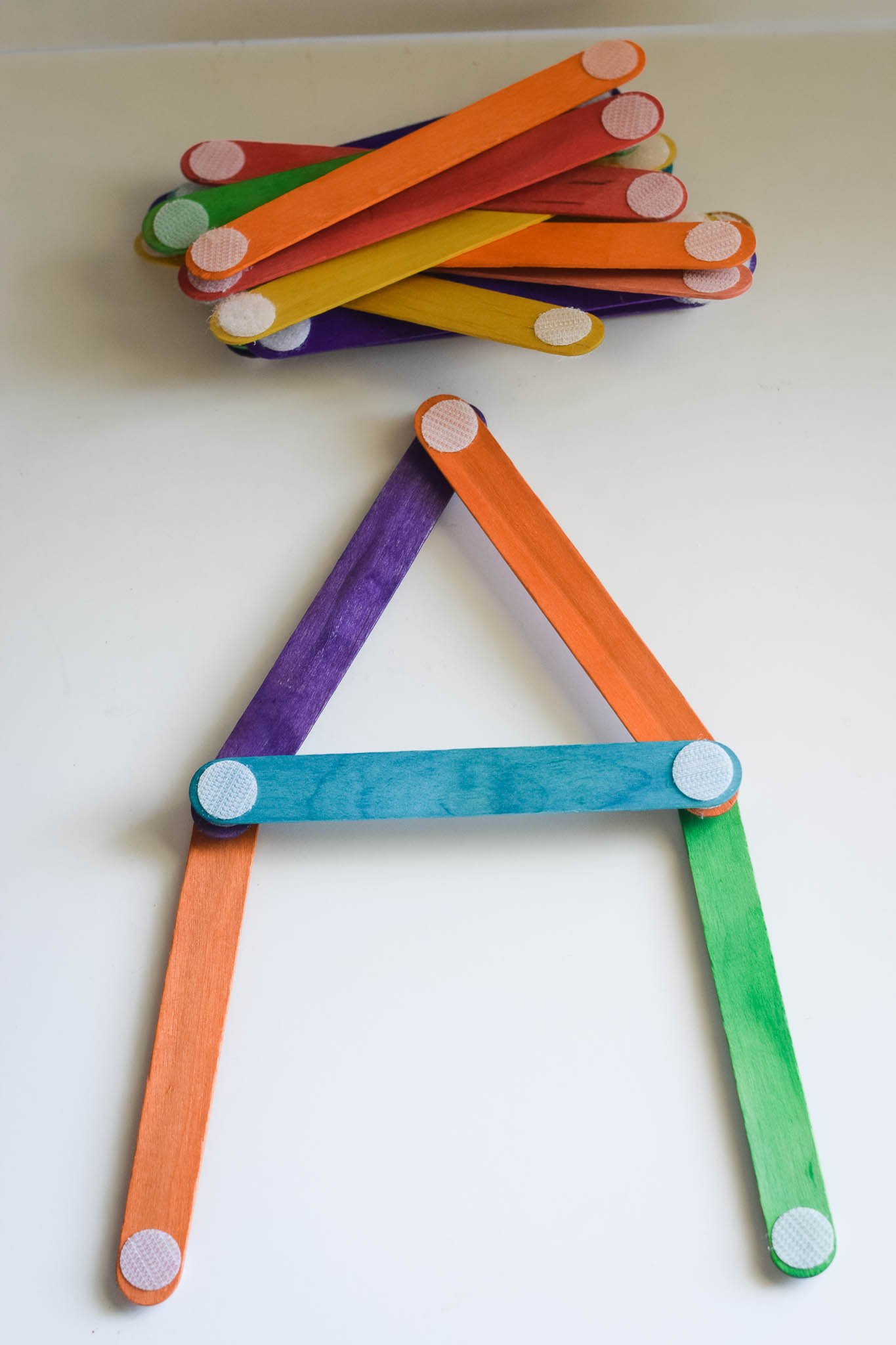 Build and Construct with Popsicle Sticks