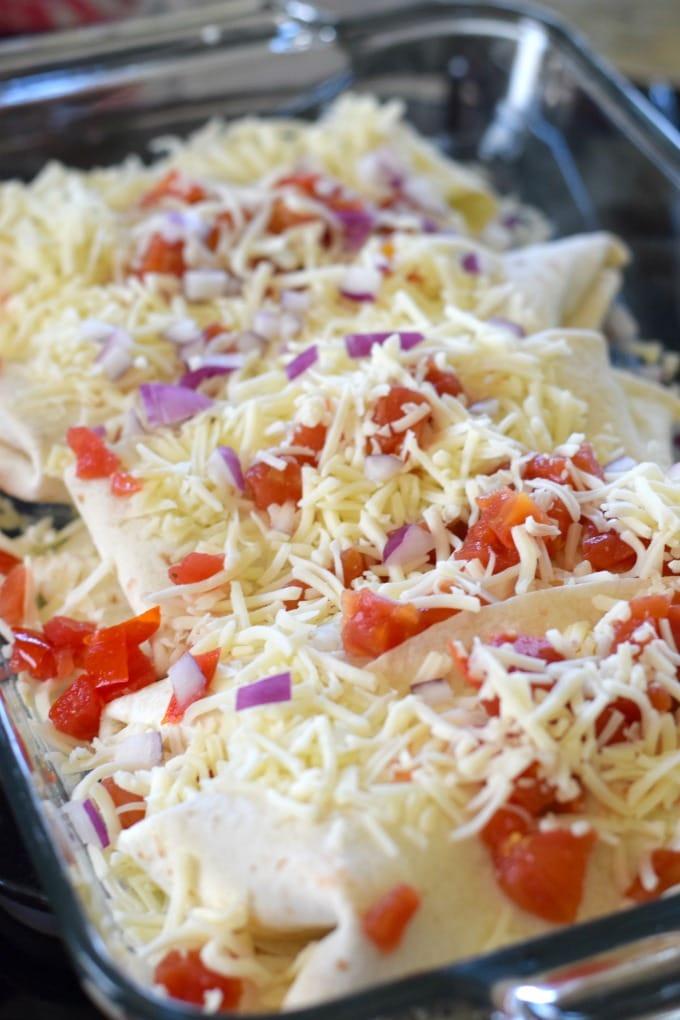 Chicken Enchiladas by This Little Home of Mine