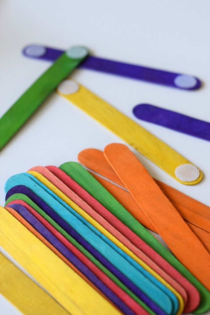 Create and Construct with Popsicle Sticks