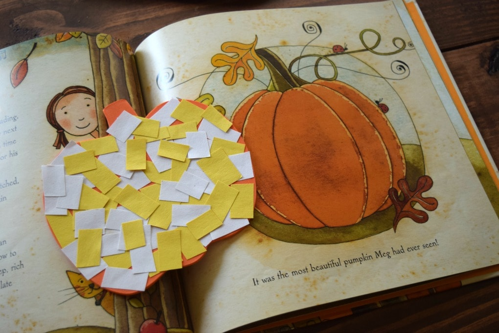 Thanksgiving Day Activities for Kids: Mosaic Pumpkin & The Very Best Pumpkin by This Little Home of Mine