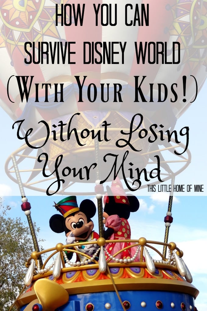 How You Can Survive Disney World with Kids Without Losing Your Mind