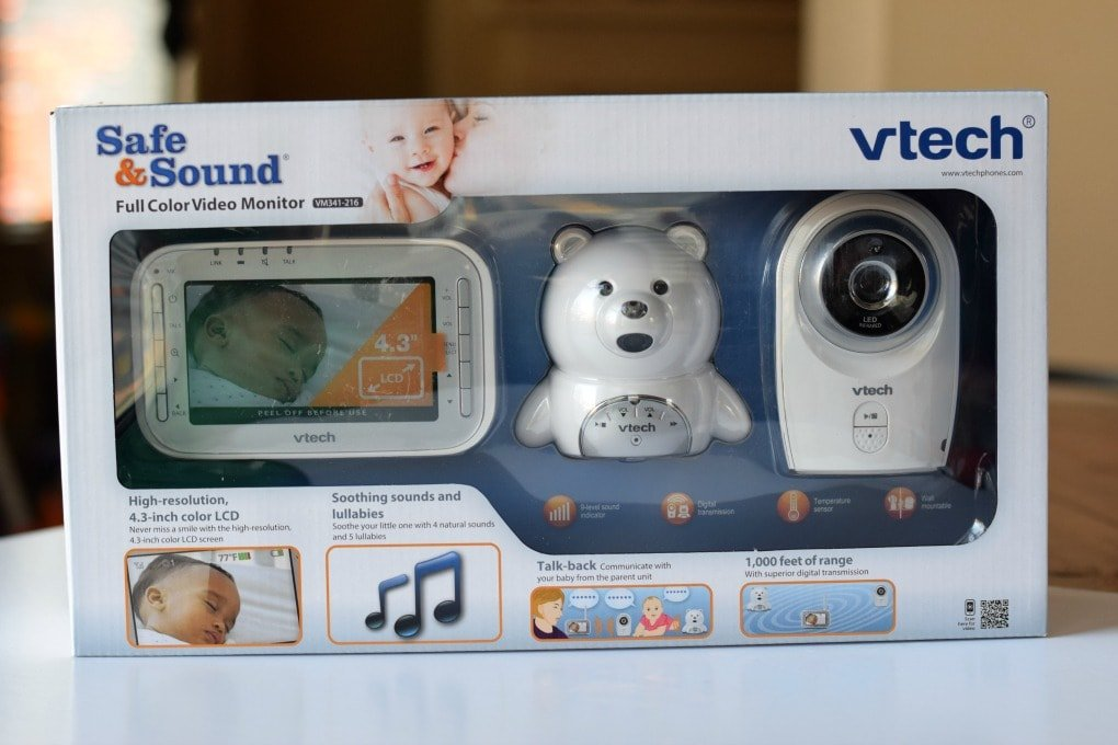 Our Bedtime Routine - Sponsored by Vtech Baby Monitor with This Little Home of Mine
