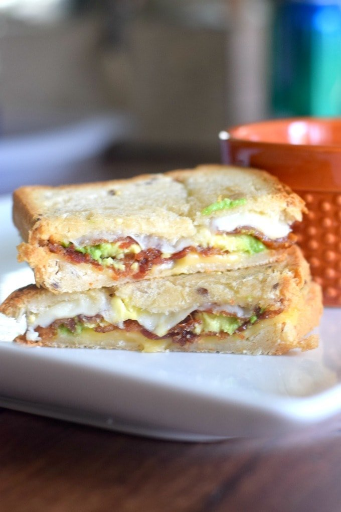 Bacon Avocado Grilled Cheese by This Little Home of Mine