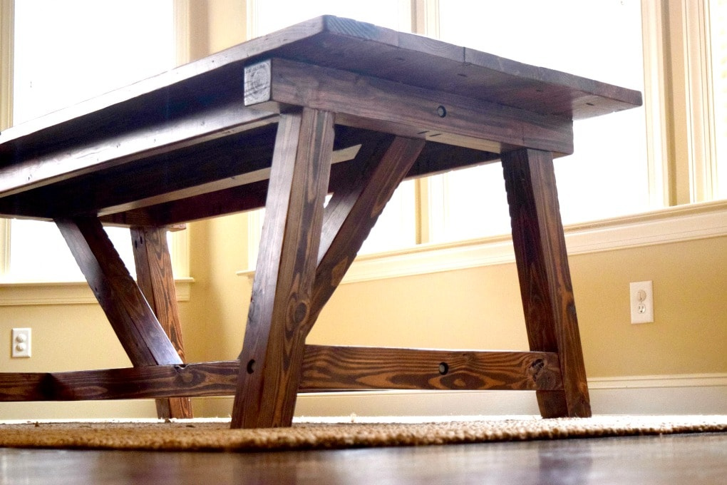 Create the Farmhouse Table of Your Dreams by This Little Home of Mine