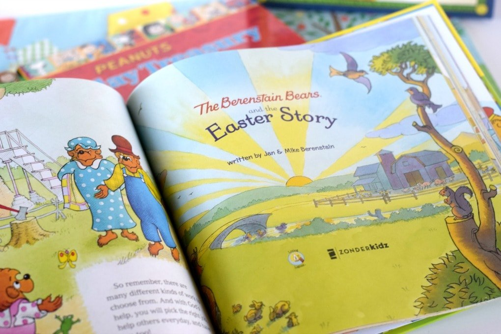 Easter Books for Kids - Berenstain Bears and the Easter Story by This Little Home of Mine