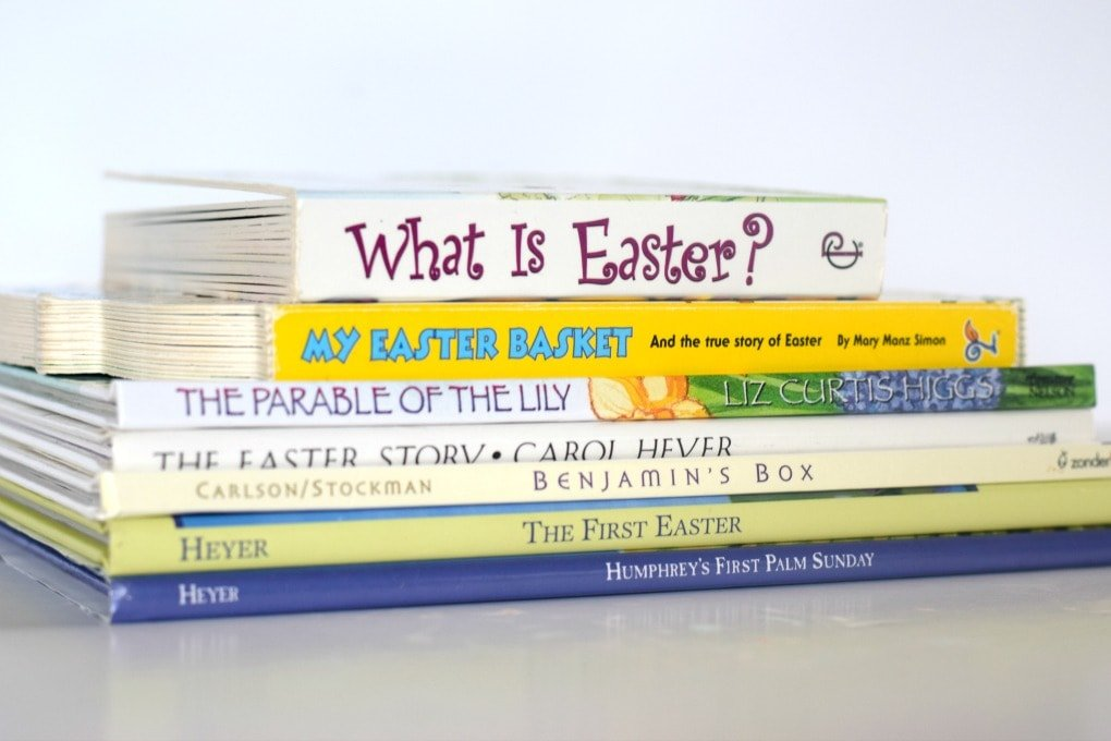 Easter Books for Kids - Faith Based Easter Books by This Little Home of Mine