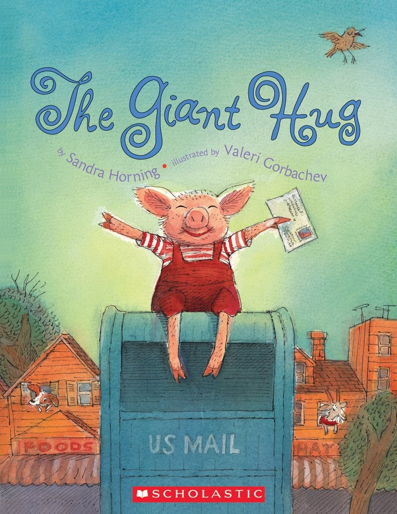 The Giant Hug - Featured on This Little Home of Mine