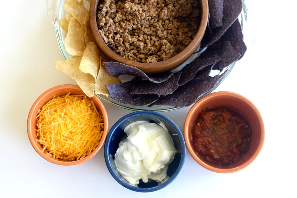 Taco Pie Ingredients - This Little Home of Mine
