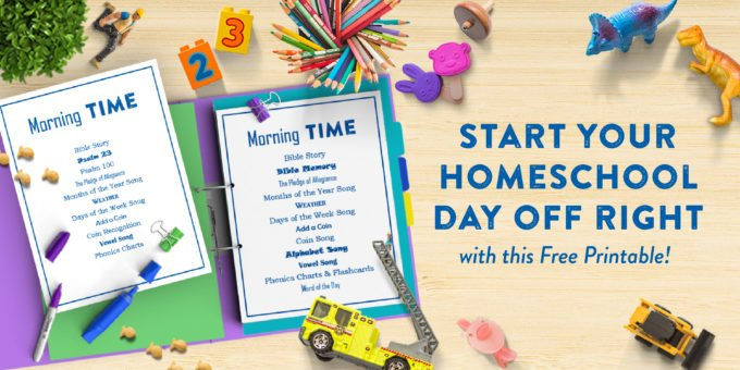 Homeschooling First Grade: Morning Time by This Little Home of Mine