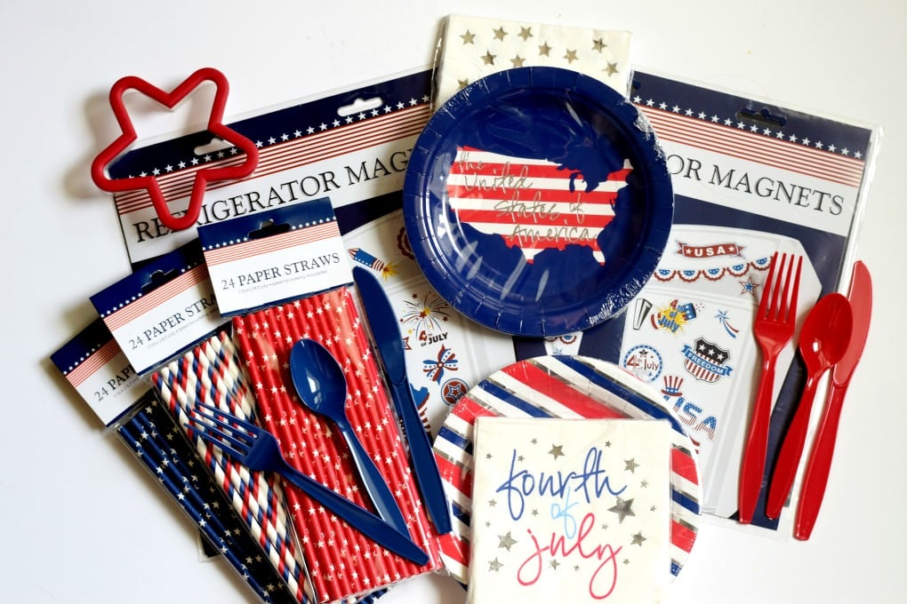 Red, White, and Blue Patriotic Activities Supplies by This Little Home of Mine