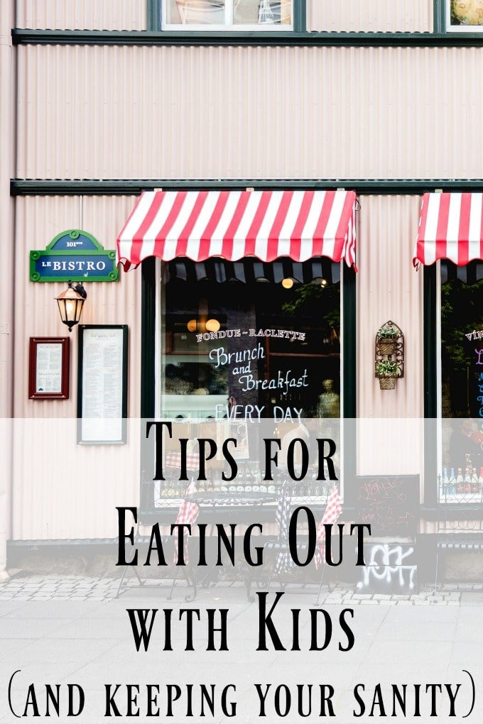 Tips for Eating Out with Kids