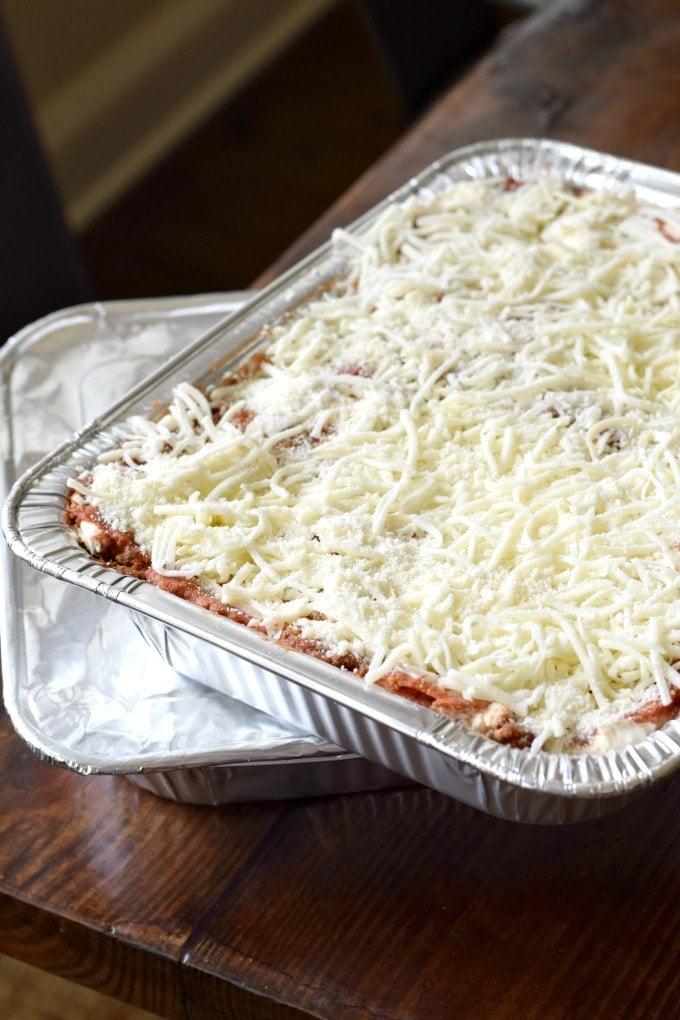 Freezer Meal: Cowboy Lasagna Recipe