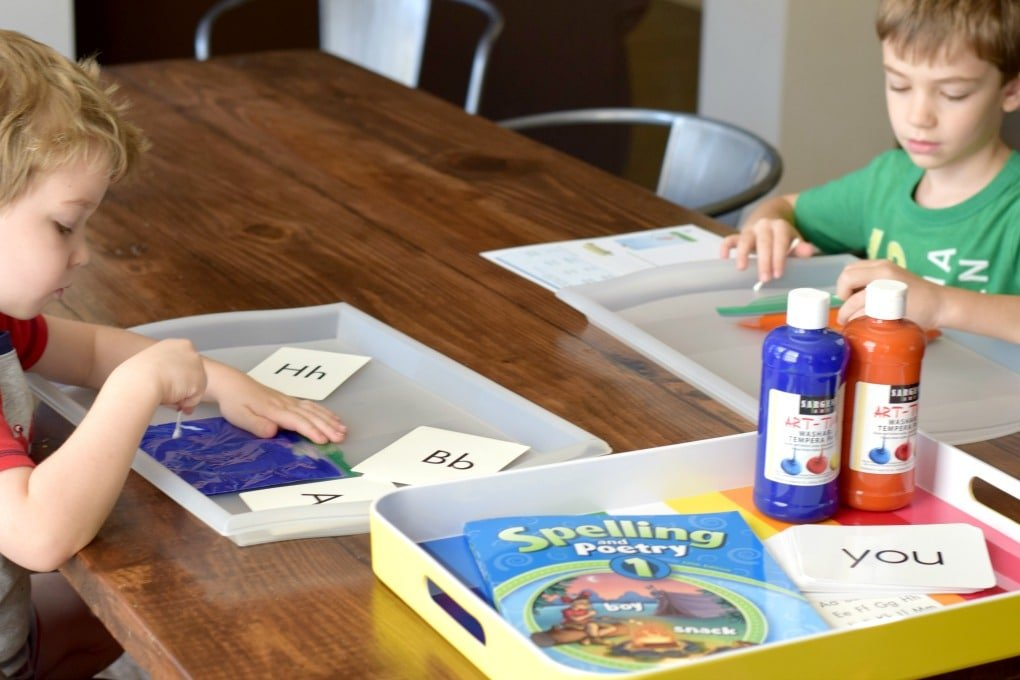Paint Bags: Letters, Sight Words, Spelling Words, & More by This Little Home of Mine