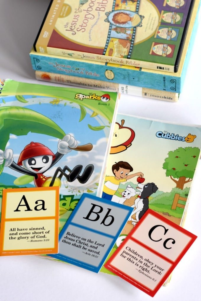 Faith Based Resources for Kids - Bible Curriculum for Homeschooling by This Little Home of Mine